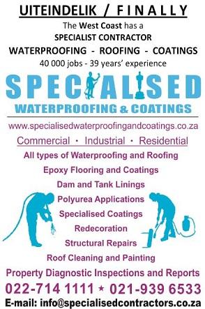 Specialised Waterproofing
