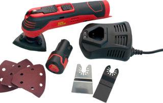 Tork Craft TCOT001 Multi-Functional cordless oscillating tool.