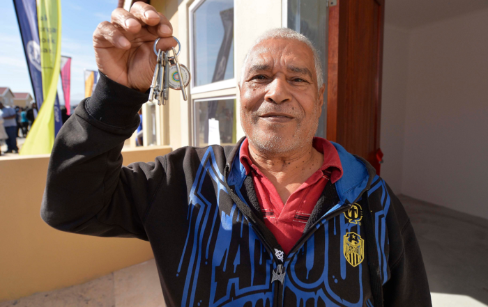 BNG housing project residents receive keys