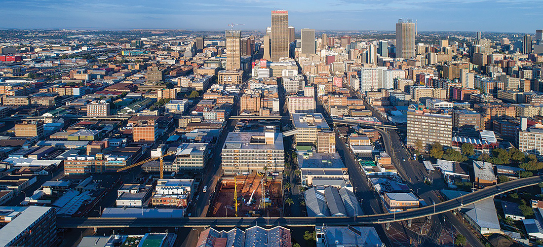 The face of Johannesburg's CBD is being brought back to life as six city blocks that have been closed to the public for decades are being redeveloped. Image: Divercity