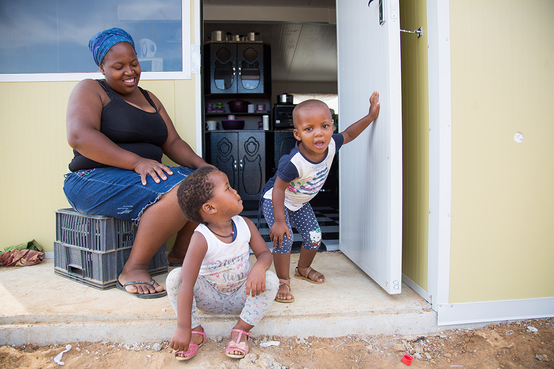 A dignified home for a Kayamandi family. Image: Intastor