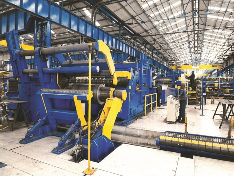The heavy-duty SACMA slitter is the first of its kind to be installed in Africa