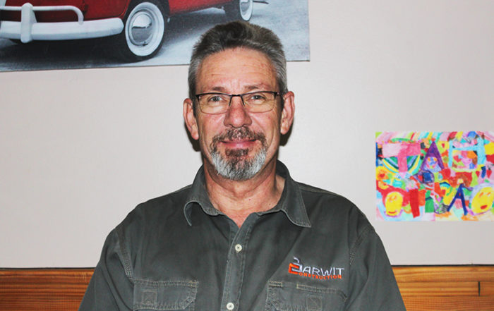 Hennie Badenhorst, managing director of Barwit Construction. Photo by: SA Affordable Housing