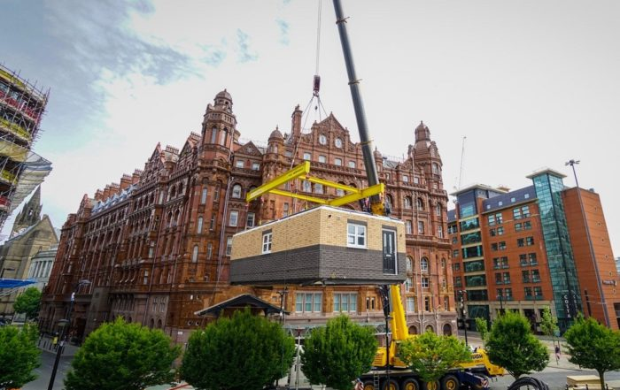'Uber moment for construction' – deal signed for 750 modular homes in UK