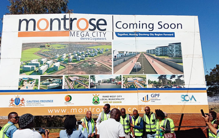 The launch of Montrose City. Image credit: Montrose City