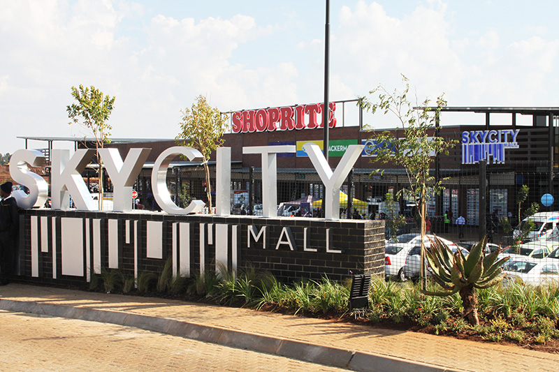 The latest addition to this holistic development is the regional Sky City Mall.