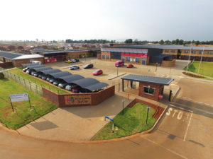 The independent school, Royal Schools Sky City, which can accommodate 1 600 learners, opened in January 2018 and currently has more than 1 000 learners enrolled.