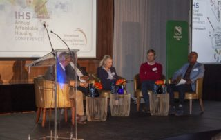 One of the panel discussions at the IHS conference. Image credit: Eamonn Ryan