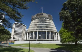 New Zealand government buildings. Image credit: Peter Sobolev/Dreamstime