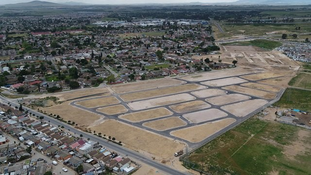 The development will provide 570 housing opportunities. Image credit: City of Cape Town