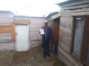 Mr Gaqavu had lived in Khayelitsha without title for almost 28 years. Image credit: Housing Finance Africa