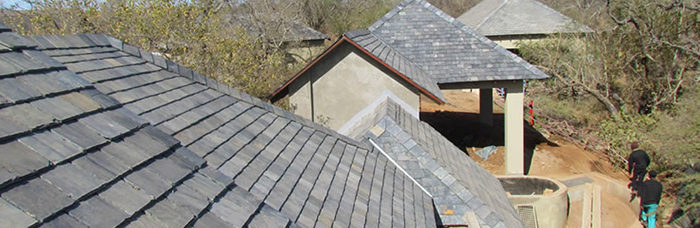 Slate is a prestigious roofing material. (Creative Commons)