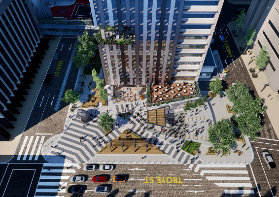 ABSA Towers Main and Jewel City to be redeveloped and linked to Maboneng. Image credit: eProp
