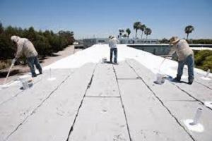 Cool roof coatings. Image credit: Finforum