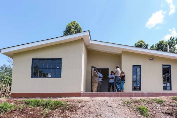 Cool coatings keep Kenyan houses cool. Image credit: Global Construction Review