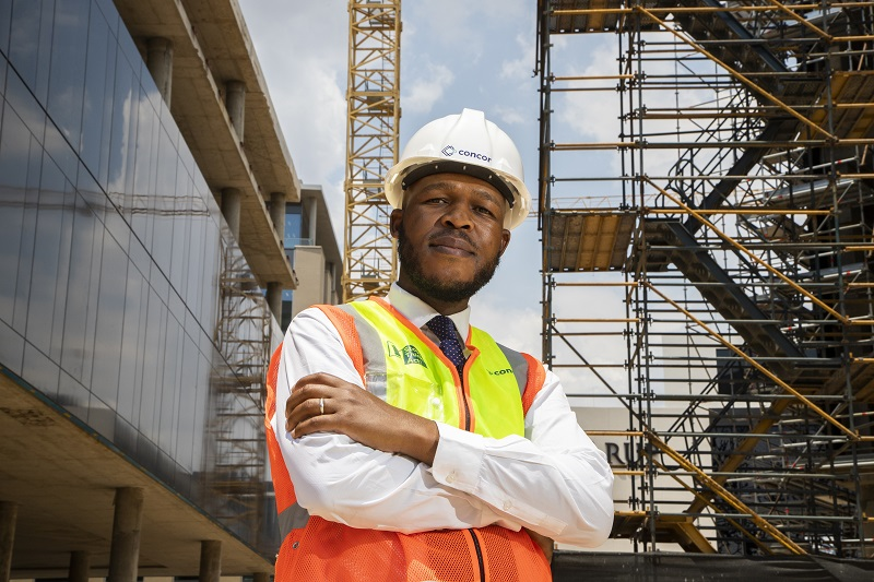 Concor's new group CEO Lucas Tseki says the company is battle-hardened by the past few years and ready to embrace the prospects of 2020 and beyond. Image credit: Concor