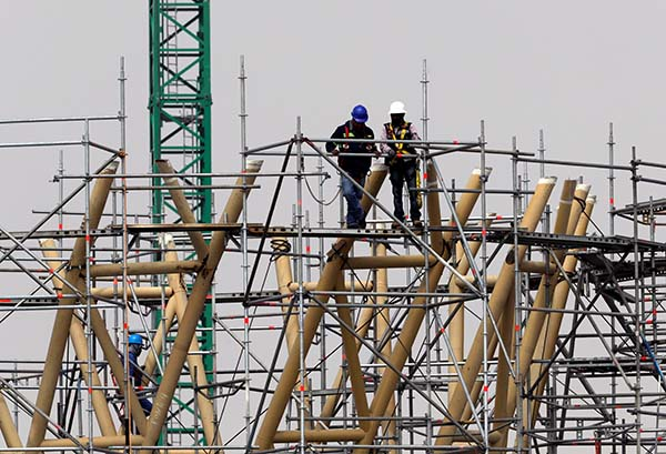 The construction industry has entirely closed down during the national lockdown. Image credit: IOL
