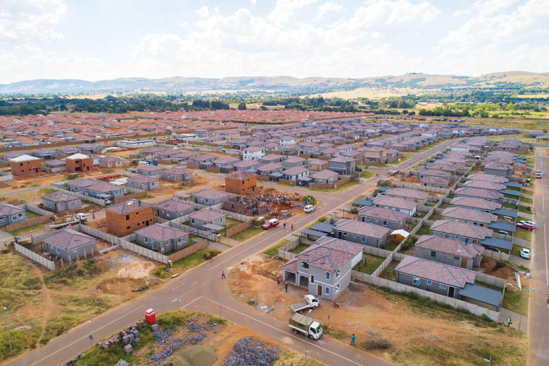 An aerial view of Westview 2 Security Estate, with its scenic location. Image credit: Cosmopolitan Projects