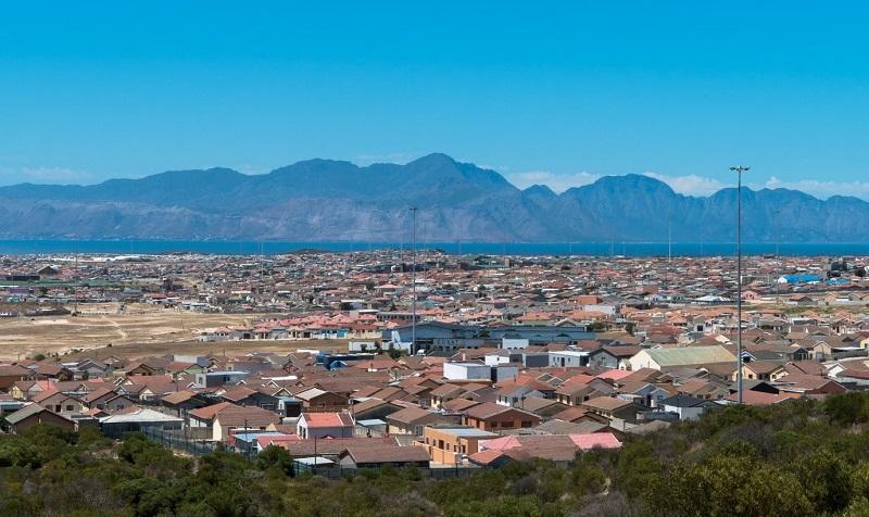 Khayelitsha, South Africa's third-largest township. Image credit: Pinterest