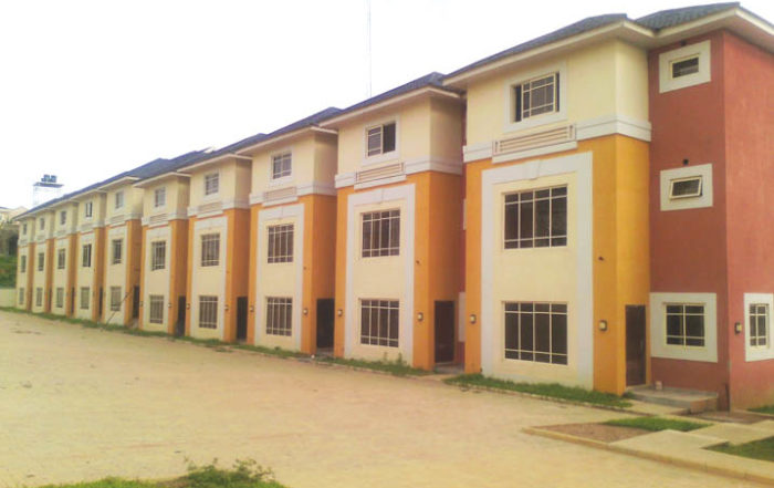 An affordable housing project in Cross River State in Nigeria. Image credit: Construction Review Online