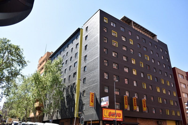 One of the functions of GPF is project management: monitoring and evaluation of the development of Mega Projects by developers and contractors, such as this apartment block in Johannesburg. Image credit: GPF