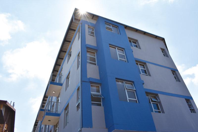 Building end facing north. Photo by © SA Affordable Housing   Rory Macnamara