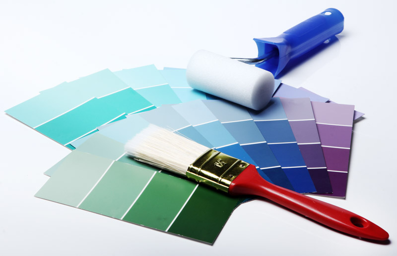 Selecting the right paint and colour