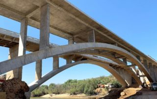 The new arch bridge over the Olifants River in the Western Cape was one of the winners in the 2019 Fulton Awards competition. Nominations are now invited by Cement & Concrete SA for next year's Fulton Awards. Photo by CCSA