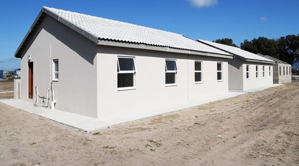 The City's Valhalla Park housing project will be home to 781 beneficiaries. Image by City of Cape Town