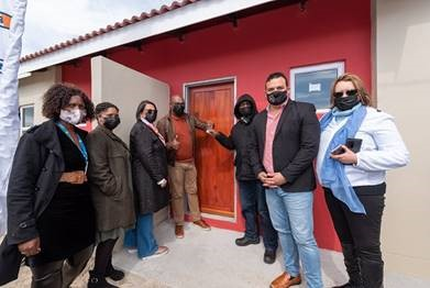 Mr David Noebejara is one of the first beneficiaries of the City's Eindhoven affordable housing project. Image: City of Cape Town