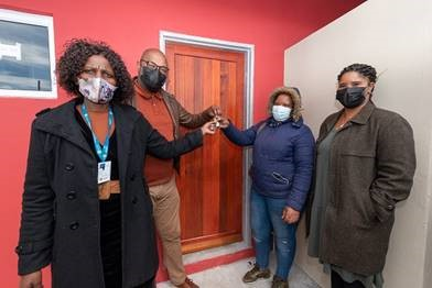 First beneficiaries receive homes at City's R33m Eindhoven housing project